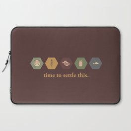 Time to Settle This Laptop Sleeve
