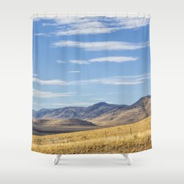 East of Steens Shower Curtain