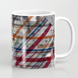 Abstract Spheres over Blurred Rock Background 150 dpi 6500/6500 px Coffee Mug