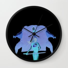 Samurai girl and the prince of the white demons #1 Wall Clock