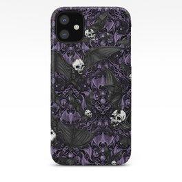 Skelebats - Royal Purple iPhone Case