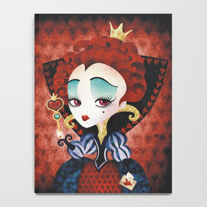 Queen of Hearts Notebook