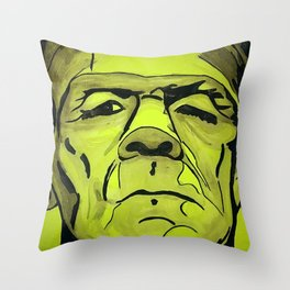 Frankenstein - Halloween special! Throw Pillow