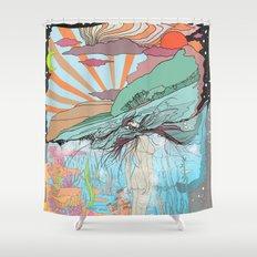 Sink Deeper Shower Curtain