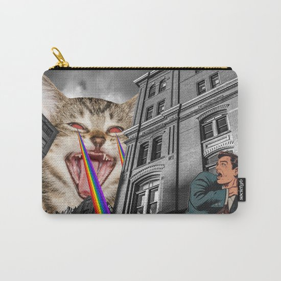 THE CAT STRIKES BACK  Carry-All Pouch