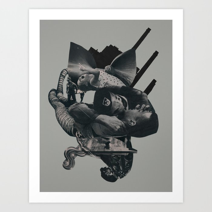 From Silence to Cinders Art Print