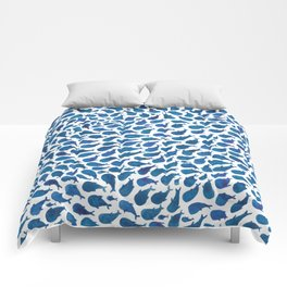 Blue Whales Comforters