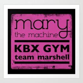 Mary the Machine Art Print
