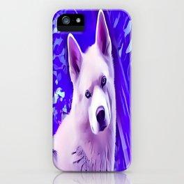 Isabella White Siberian Husky iPhone Case