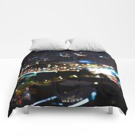 Paris Bokeh Lights - TiltShift Comforters