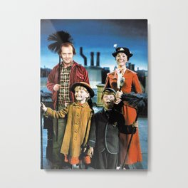 Jack Torrance in Mary Poppins Metal Print
