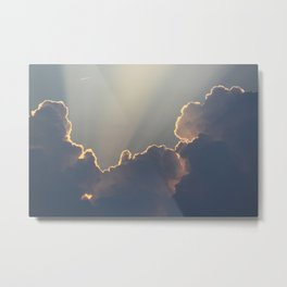The Heavens Cry Out Metal Print