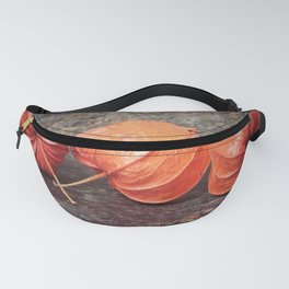 Fall colors with the winter cherries Fanny Pack
