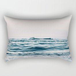 Sea Water Flow Rectangular Pillow