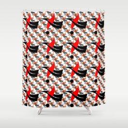 Flex pattern 1 Shower Curtain
