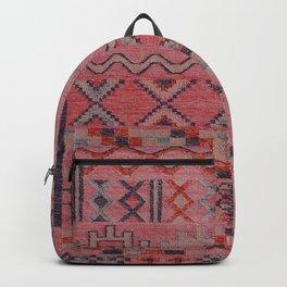 V21 New Traditional Moroccan Design Carpet Mock up. Backpack