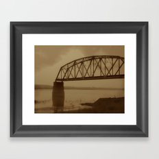 The Old Railway Bridge Framed Art Print