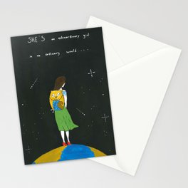 An extraordinary girl Stationery Cards