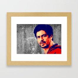Shah Rukh Khan Framed Art Print