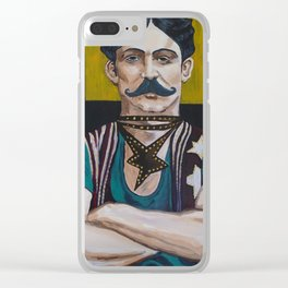 The Strong Man Clear iPhone Case
