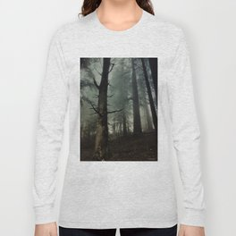 misty forest Long Sleeve T-shirt
