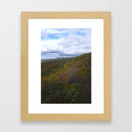 Fall in Shenandoah National Park Framed Art Print