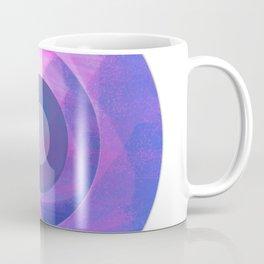Circles Inside a Circle - Pink Coffee Mug