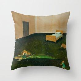 Petrified Throw Pillow