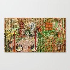 The Interlocking Mechanism of Compartmentalization Canvas Print