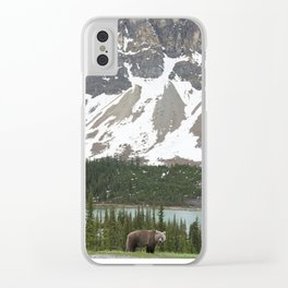 Bear in the north #society6 #buyart Clear iPhone Case