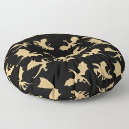 Dragons Floor Pillow