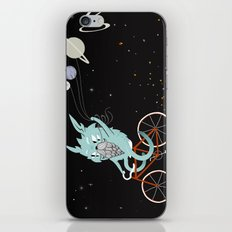 Bunny in Space iPhone & iPod Skin