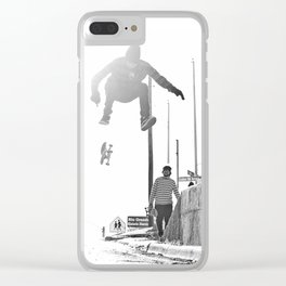 Switch Bigspin Heel Clear iPhone Case