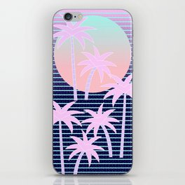 Hello Miami Moonlight iPhone Skin