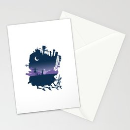 Sophie and Calcifer Stationery Cards