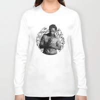 rick grimes Long Sleeve T-shirts featuring Grimes by Ariane Lafreniere