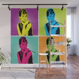 Miss Audrey Wall Mural