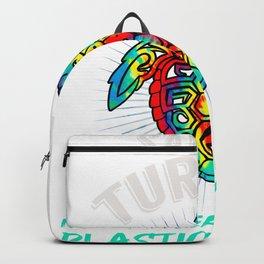 Vintage Hippie Sea Turtle Tie Dye Save the Turtles Design product Backpack