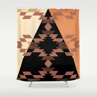 mexico Shower Curtains featuring Mexico by Laura Santeler
