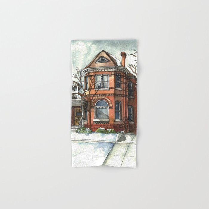 Victorian House in The Avenues Hand & Bath Towel