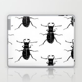 MINIMAL + MONOCHROME BEETLE PATTERN Laptop & iPad Skin