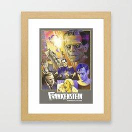 """""""FRANKENSTEIN"""" (1931) Tribute Poster Framed Art Print"""