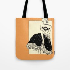 Vintage lady#2 Tote Bag