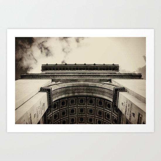 Arc de Triomphe. Paris, France Art Print