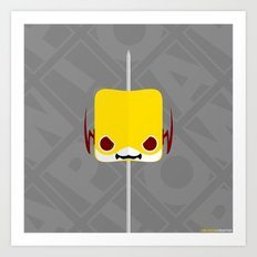 Marshmallow Reverse-Flash Art Print