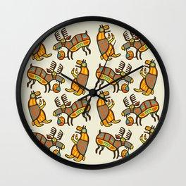 Moose & Bear Wall Clock