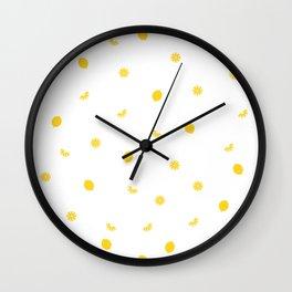 Lemon party 2 Wall Clock