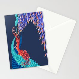 Dancing monster Stationery Cards