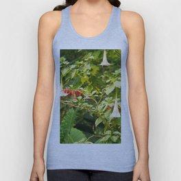 Tropical Flowers Unisex Tank Top
