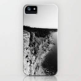 Where sea meets land iPhone Case